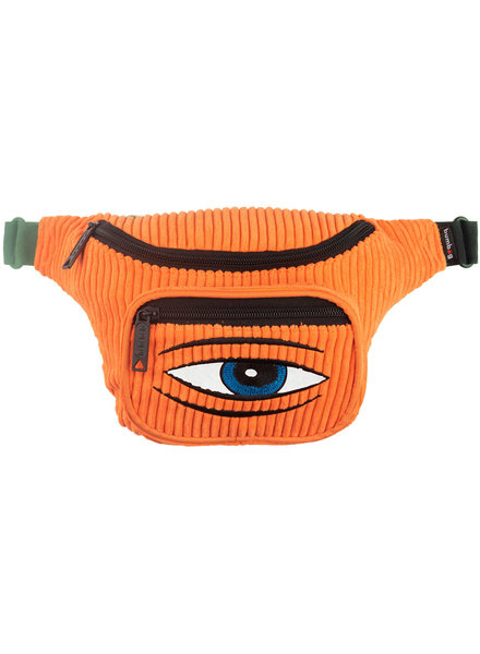 BUMBAG TOY MACHINE DELUXE HIP PACK - ORANGE
