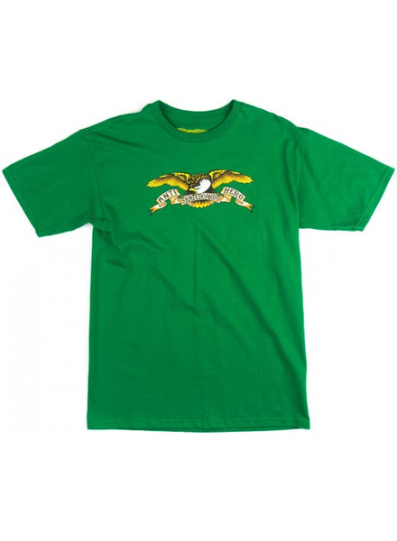 Anti Hero Skateboards ANTI HERO T SHIRT EAGLE GREEN