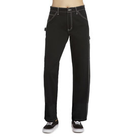 RELAXED FIT CARPENTER PANTS BLACK