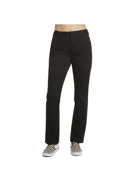DICKIES STRAIGHT LEG WORK PANTS BLACK
