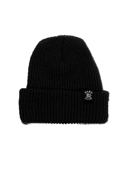 Hard Luck MFG BEANIE OG WOVEN BLACK