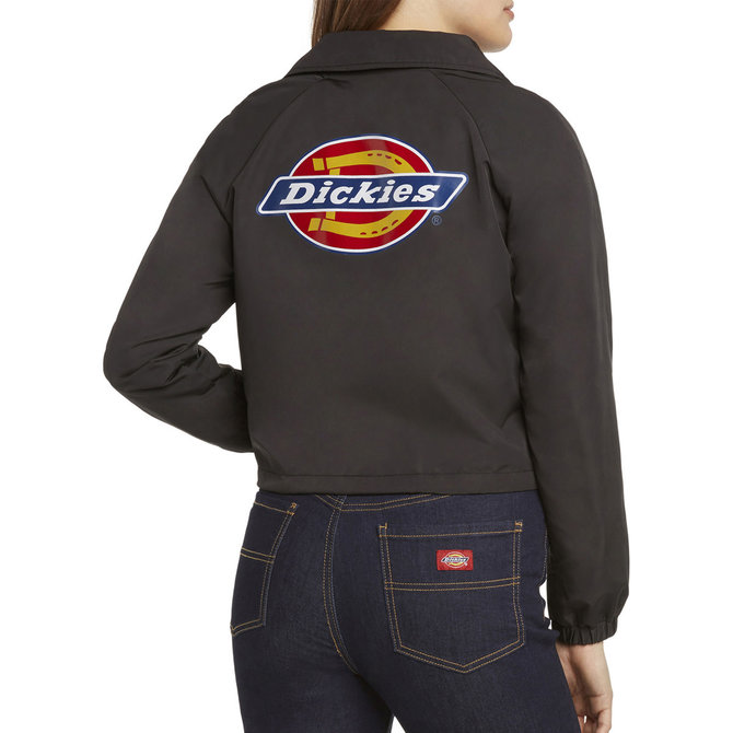 DICKIES CROPPED LOGO WINDBREAKER JACKET