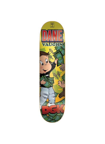 DGK DECK FROM NOTHING VAUGHN 8.25