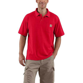POLO CONTRACTORS WORK POCKET RED