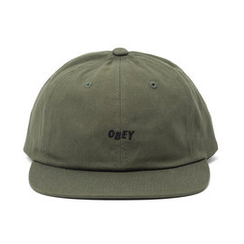 OBEY Jumbled 6-Panel Army Hat