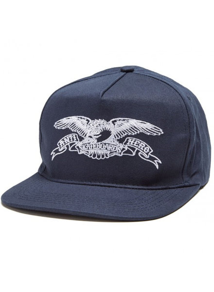 Anti Hero Skateboards HAT BASIC EAGLE EMBROIDERED NAVY/WHITE