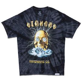 Diamond T SHIRT GOLD SKULL TIE DYE