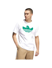 adidas Classic Shmoo White/Green Tee