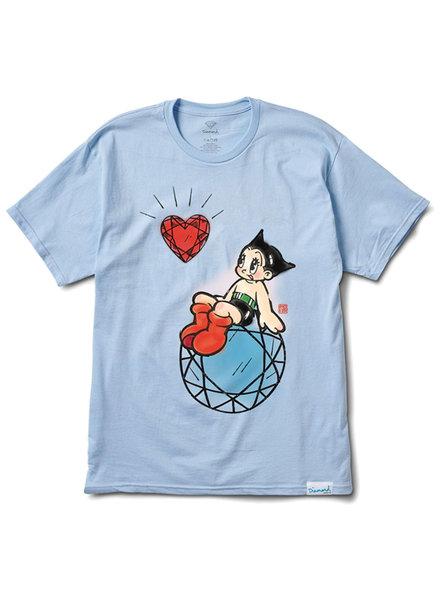 Diamond T-SHIRT ASTRO BOY HEART