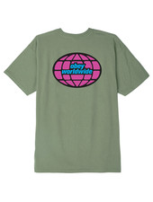 OBEY T-SHIRT GLOBAL WORLDWIDE