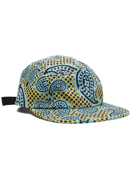 OBEY HAT EISLEY 5 PANEL GOLD MULTICOLOR