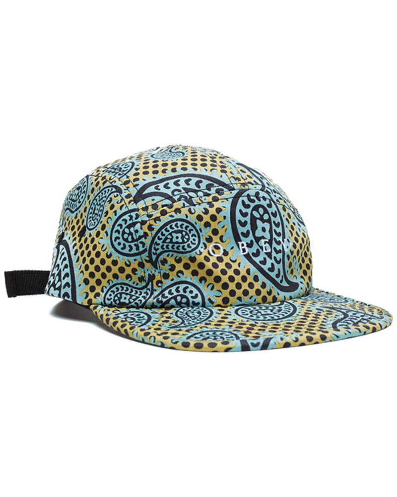 OBEY OBEY HAT EISLEY 5 PANEL GOLD MULTI