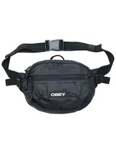 OBEY BAG COMMUTER WAIST BLACK