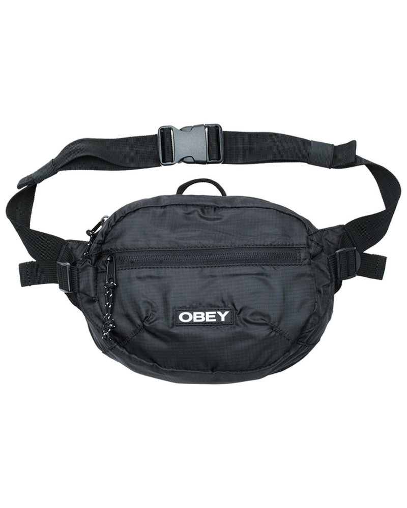 OBEY OBEY BAG COMMUTER WAIST BLK