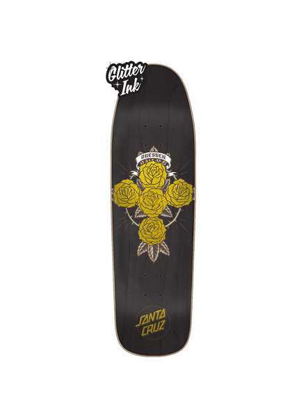 Santa Cruz Skateboards DRESSEN ROSE CROSS PREISSUE 9.31