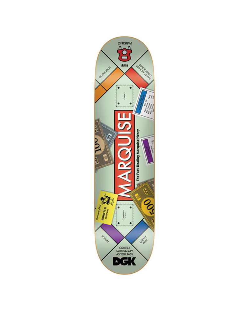 DGK DGK DECK GHETTO GOODS MARQUISE 8.38