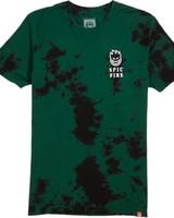 Spitfire STEADY ROCKING GREEN/BLACK WASH