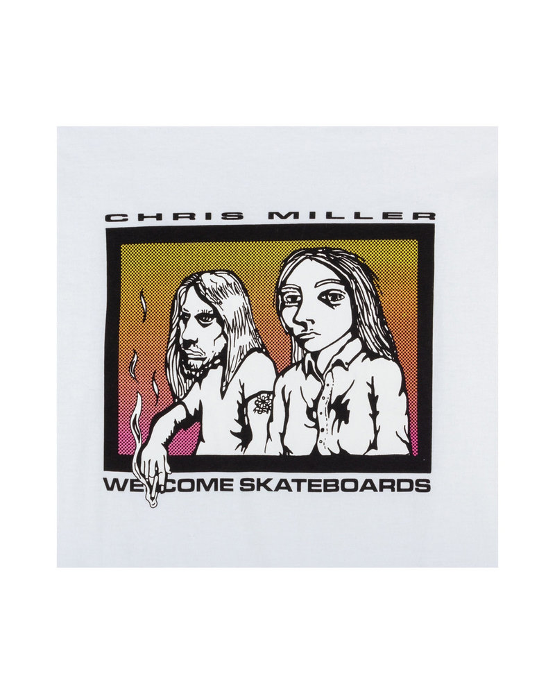Welcome Skateboards THE COUPLE T-SHIRT