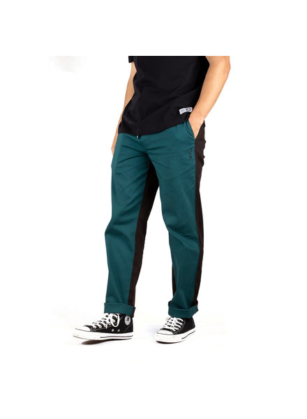 Welcome Skateboards DARK WAVE SPLIT-COLOR ELASTIC PANTS