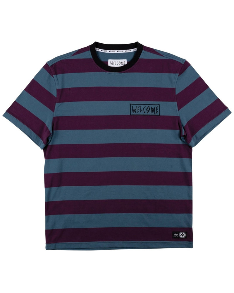 Welcome Skateboards THICC STRIPE S/S KNIT