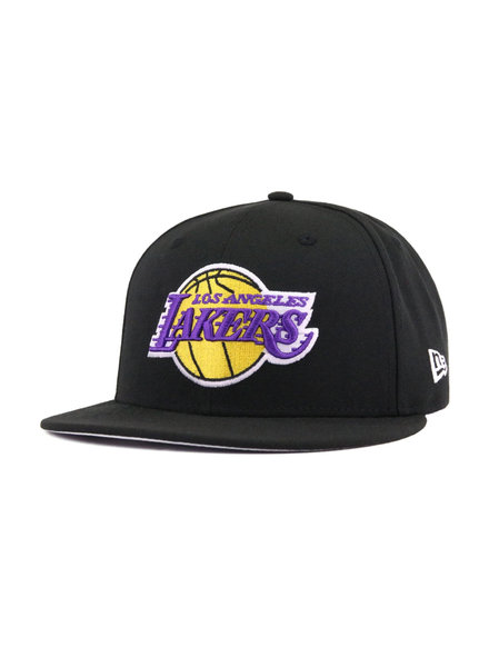 NEW ERA LA LAKERS SNAPBACK BLACK