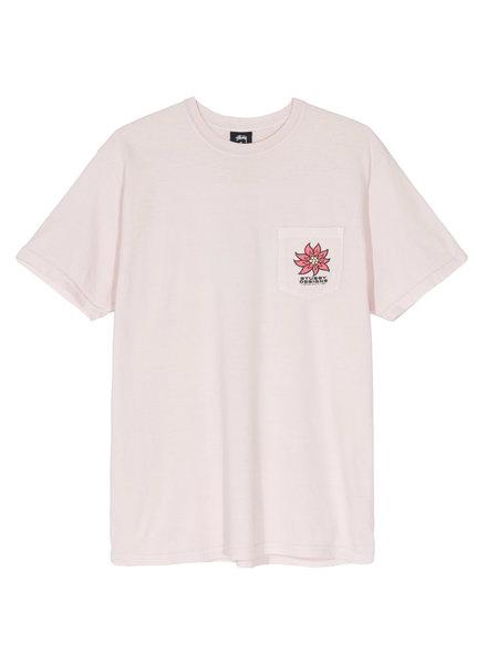 Stüssy T-SHIRT LAGUNA FLOWER PKT