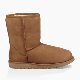UGG CLASSIC II SHORT WATERPROOF CHESTNUT BOOT