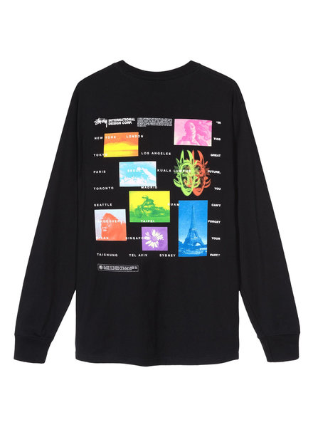 Stüssy GREAT FUTURE L/S T-SHIRT