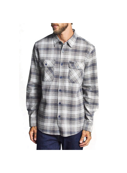 Brixton BOWERY L/S FLANNEL TWILIGHT BLUE