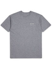 Brixton Heather Grey Wedge Tee