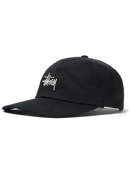 Stüssy CAP STOCK LOW PRO BLACK