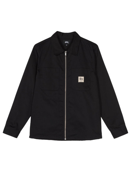Stüssy ZIP UP WORK LS SHIRT