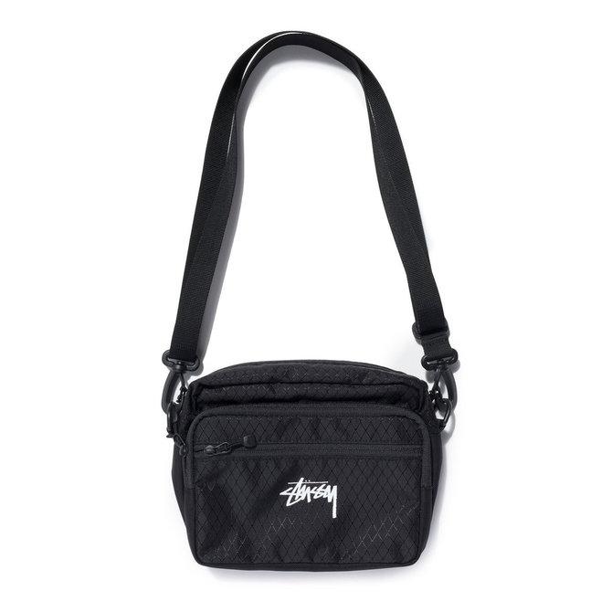 Stüssy Black Diamond Ripstop Shoulder Bag