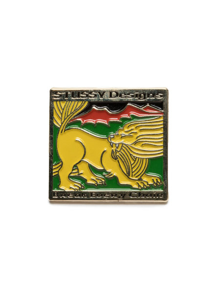 Stüssy LION DESIGN PIN