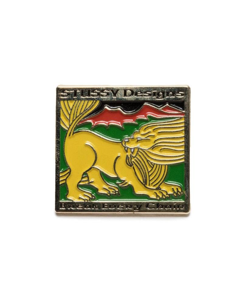 Stüssy LION DESIGN PIN