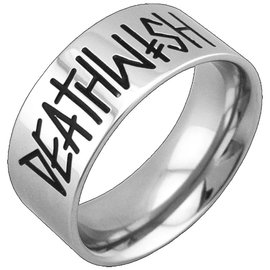 Deathwish Skateboards Deathspray Silver Ring Medium