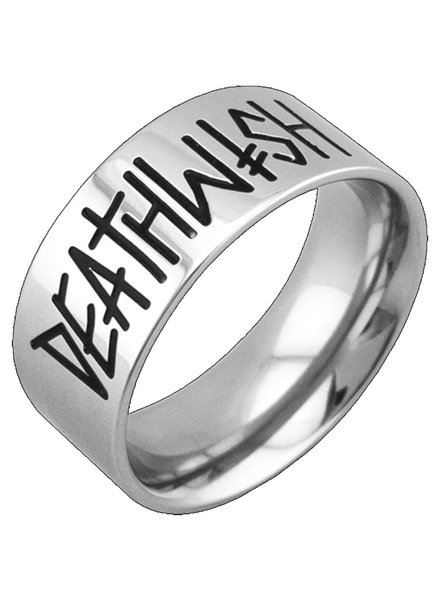 Deathspray Silver Ring Large