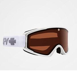 Crusher Elite Snow Goggle Matte White w/ Persimmon Lens