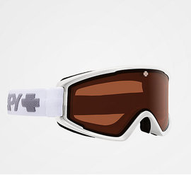 SPY Crusher Elite Snow Goggle Matte White w/ Persimmon Lens