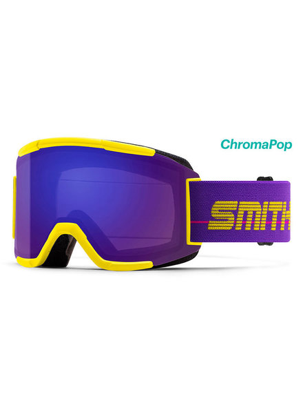 SMITH Squad Snow Goggles w/ Yellow 93' Frame