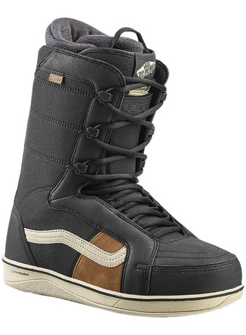 Vans Mens HI - Standard Pro Black / Off-White Snowboard Boot