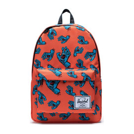 HERSCHEL Classic XL 600D Poly Firecracker  Screaming Hand