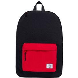 Classic 600D Black/Scarlet Backpack