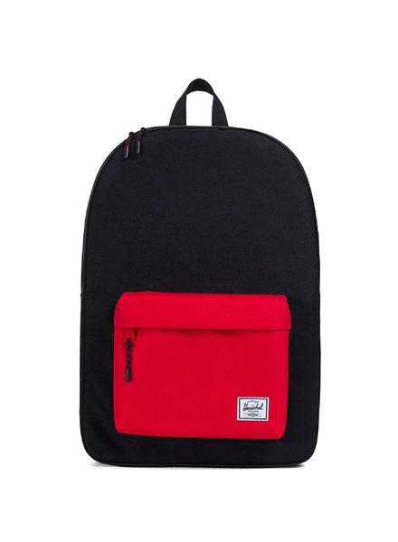 HERSCHEL Classic 600D Black/Scarlet Backpack