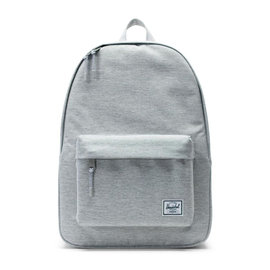 Classic  600D Poly Light Grey Backpack