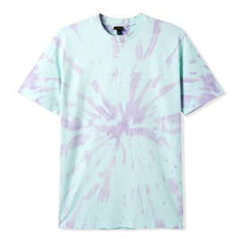 Badge Tie Dye Tee, Mint/Grape