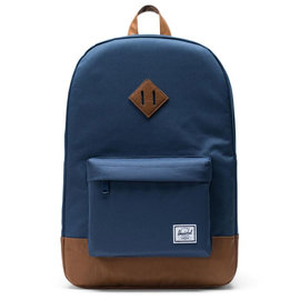Heritage 600D Poly Navy Backpack