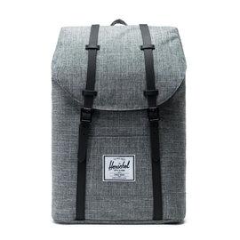 Retreat 600D Poly Raven Crosshatch/Black Backpack