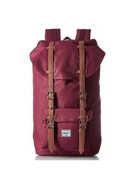 HERSCHEL Retreat 6D Poly Windsor Wine Backpack
