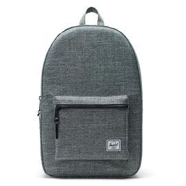 Settlement 600D Poly Raven Crosshatch Backpack